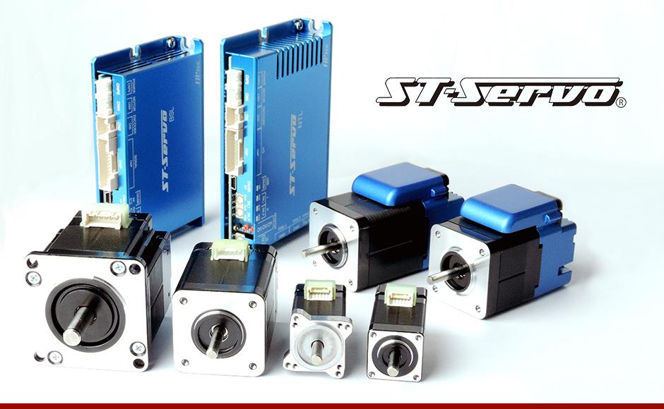 ST-Servo采用伺服闭环控制系统                                                              ST-Servo